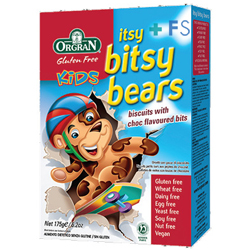 Galletas Itsy Bitsy Kids Ositos (175g)