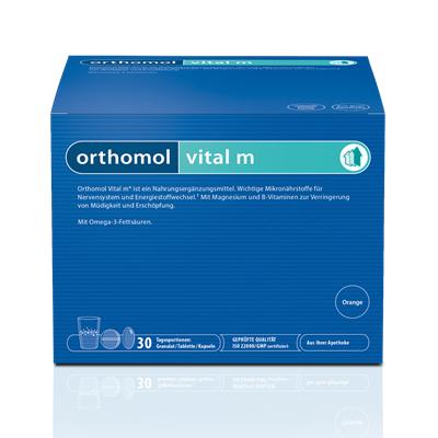 COBAS LABORATORIO Orthomol Vital M Sobres Granulados (30