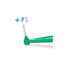 Angle Cepillo Interdental Verde 0,8mm (6 uds.)