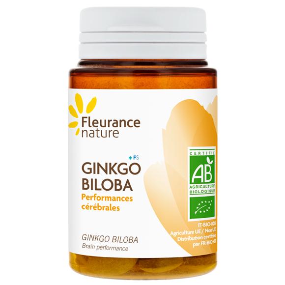 Fleurance nature gingko biloba bio 30comp farmacia for Fleurance nature
