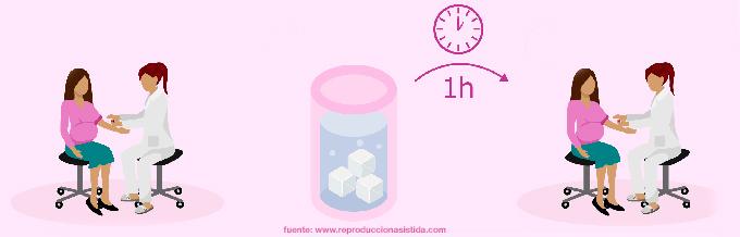 6 semanas de embarazo y 4 de diabetes gestacional