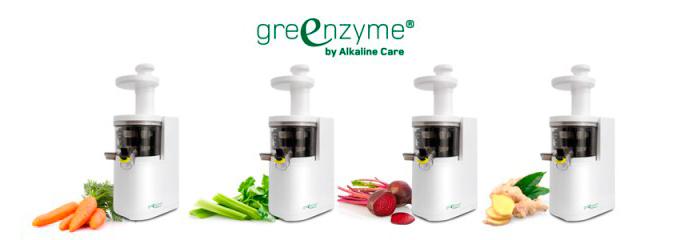 greenzyme maquina zumos verdes