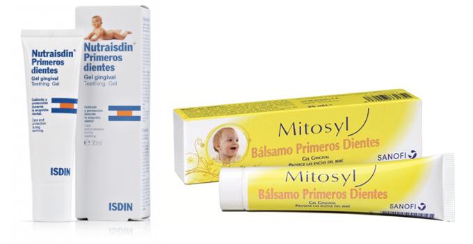 medicina para las encias de bebe