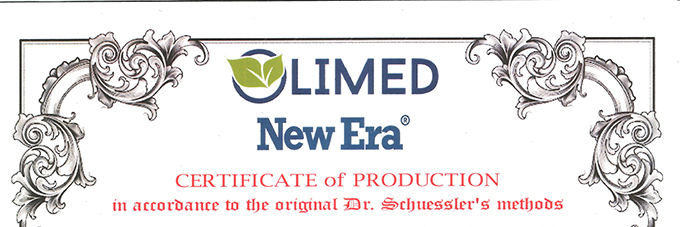 Certificado de producción Sales New Era